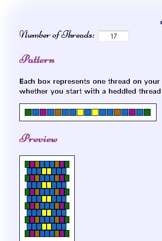 Calling This Fun Colors 1 Created From The Inkle Loom Pattern