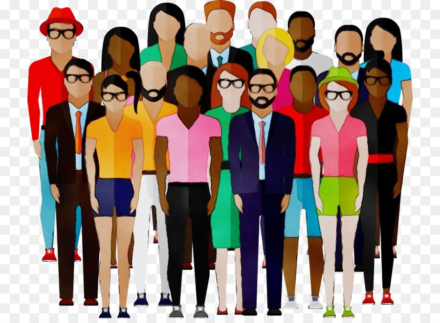 Kerumunan Orang Siluet Gambar Png Social Media Campaign What Is Social Social