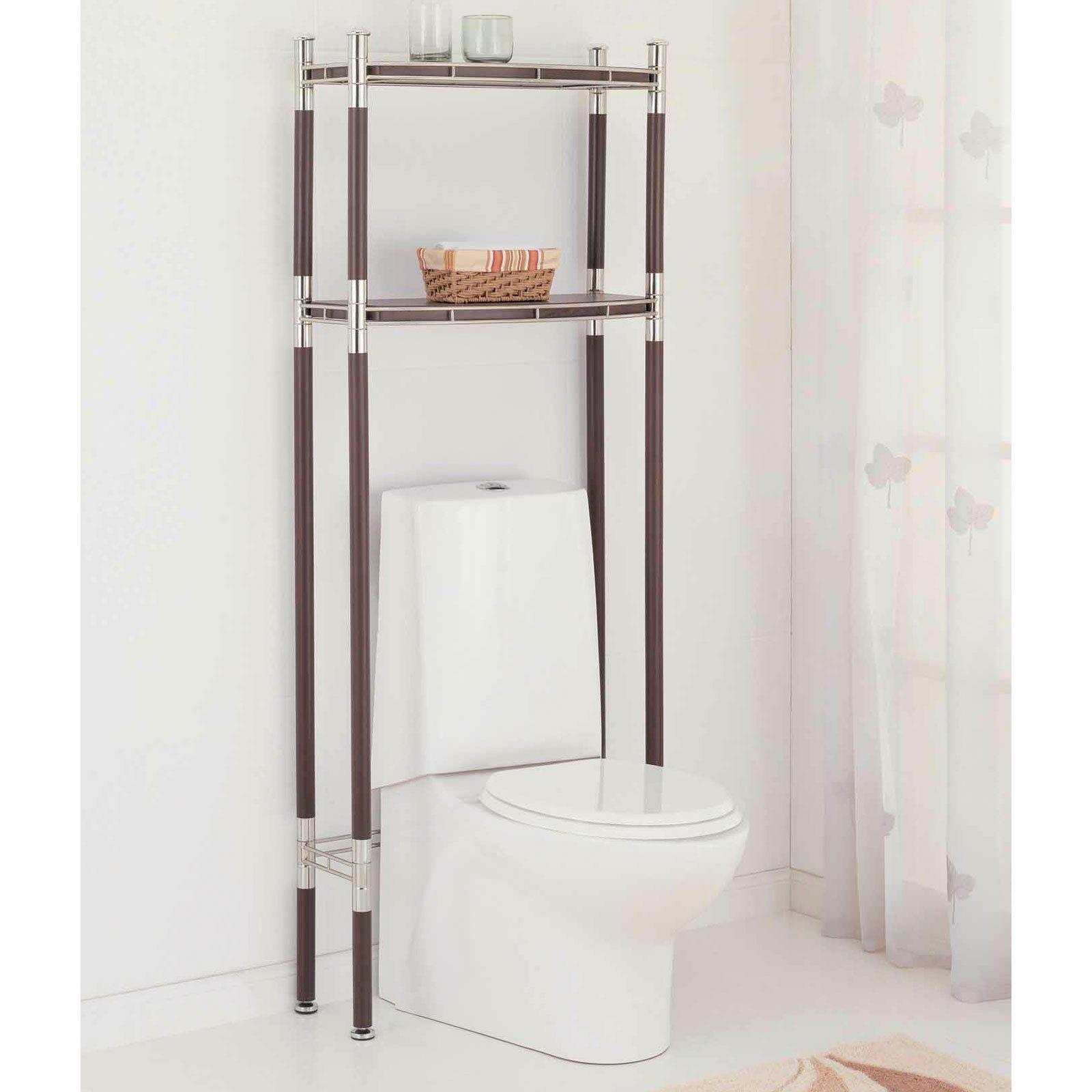over the toilet storage Baronial Shelf Space Saver | bathroom design ...