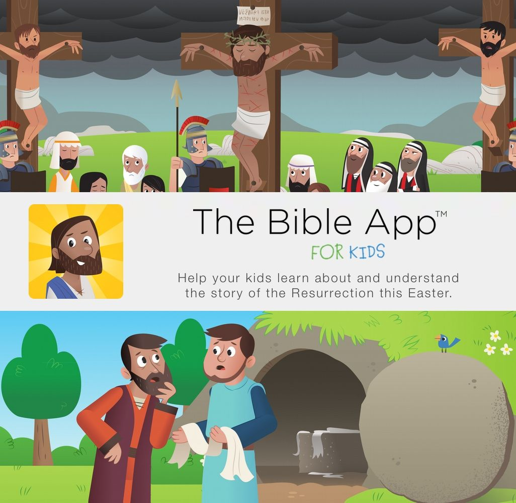 Bible App for Kids Easter Bible apps, Christian apps, Bible