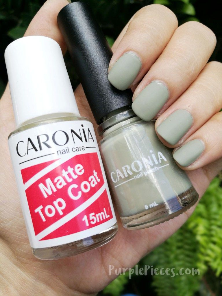 Caronia Nail Polish In Road Trip Matte Top Coat