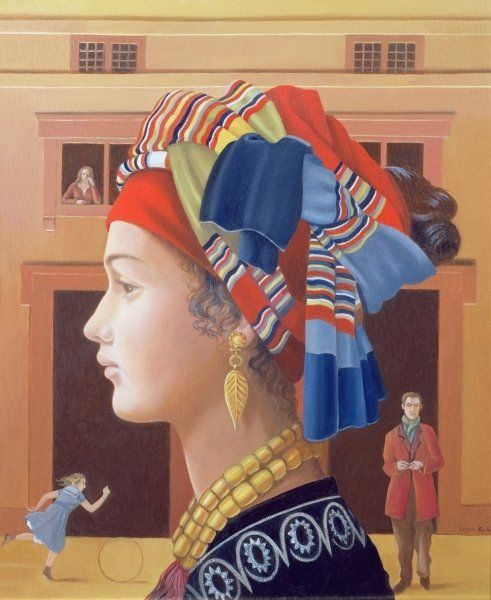 Girl from the South, 2007 by Lizzie Riches