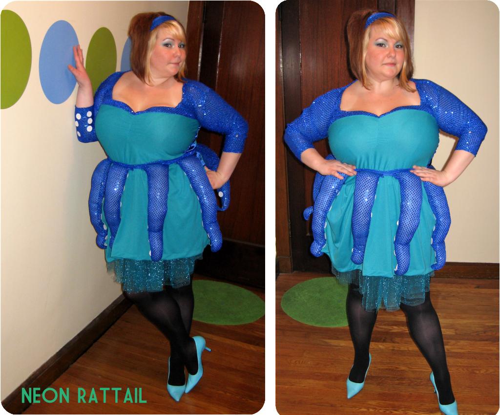 DIY: Octopus Costume | Neon Rattail #halloween | HALLOWEEN ...