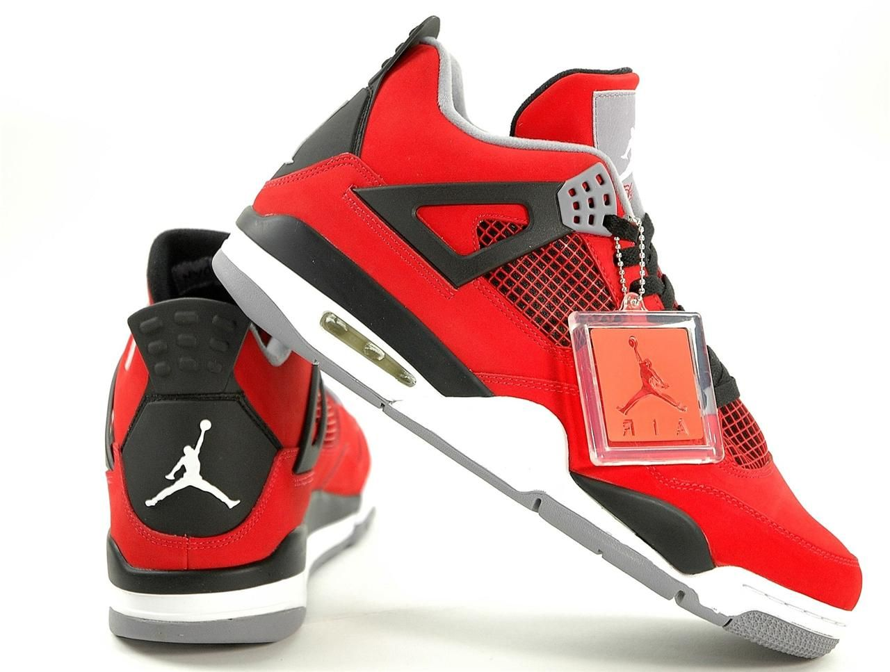 280ed3f7ff724f Dettagli su Nike Air Jordan 4 Retro IV Toro Bravo Fire Red 308497 ...