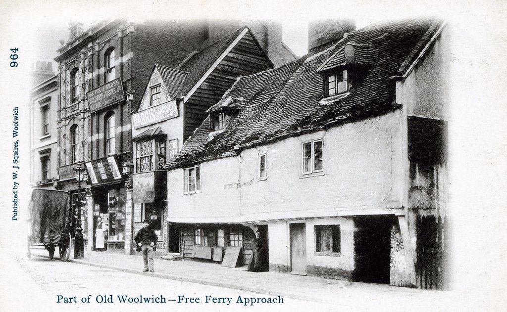 Woolwich Ferry Approach, Woolwich, London, SE18 c.1900.