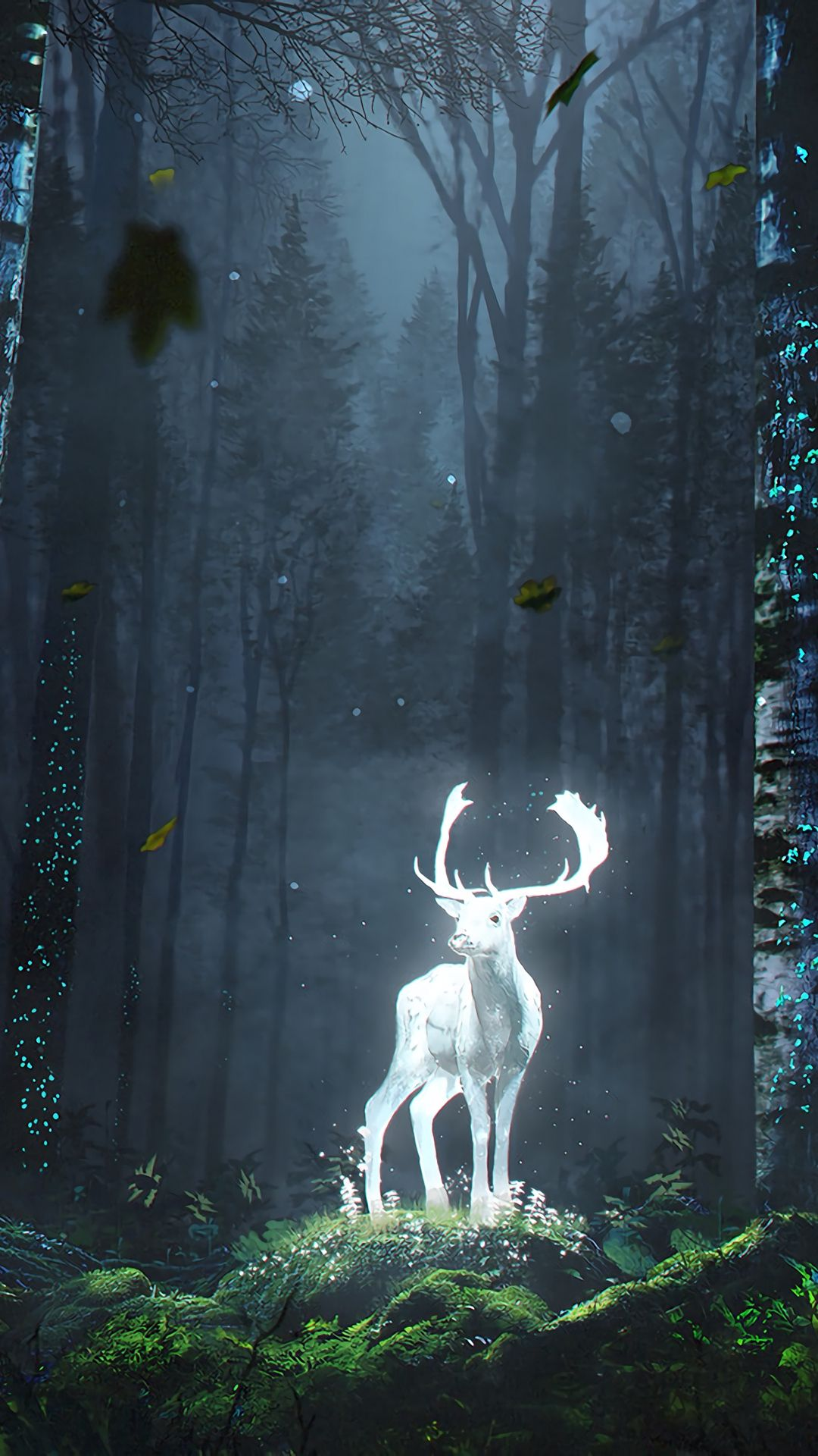 Pin by yes on retrowave (With images) Deer wallpaper