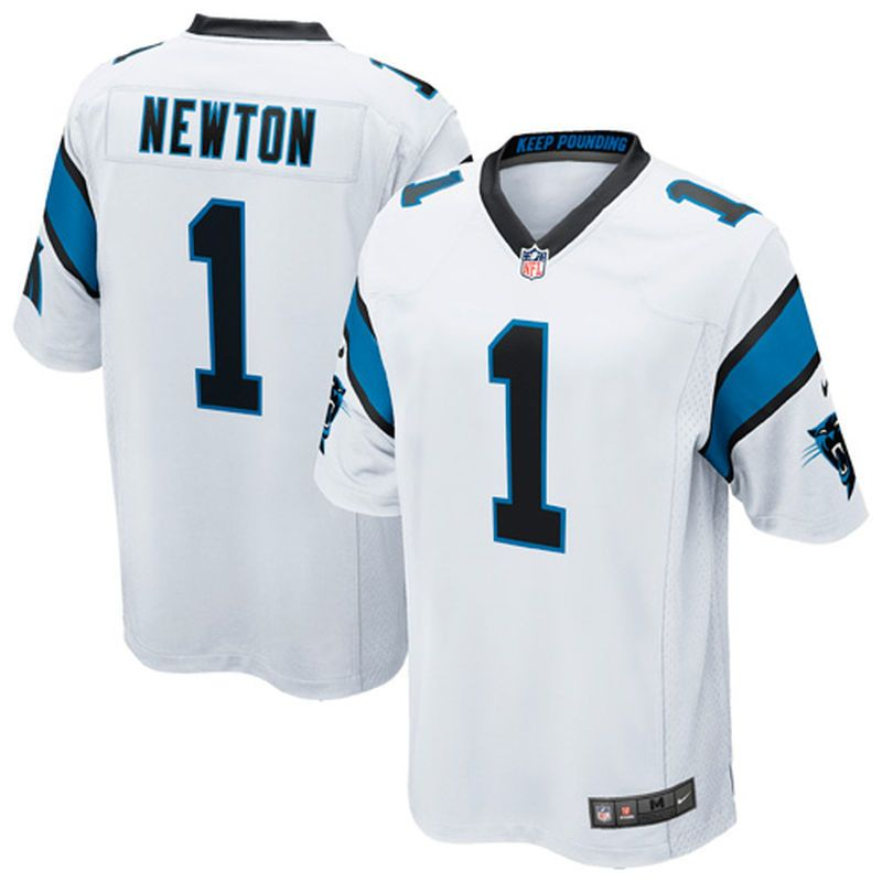 Carolina Panthers Cam Newton Limited Edition Superbowl 50 White gold Jersey  L from  78.0  03e88c654