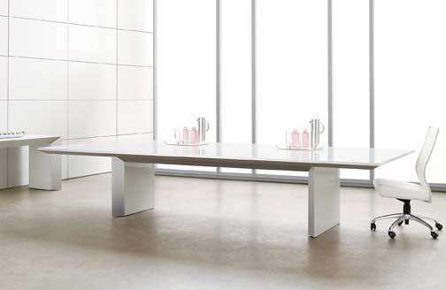 White New Contemporary Meeting Table Office Furniture Modern Conference Table Furniture