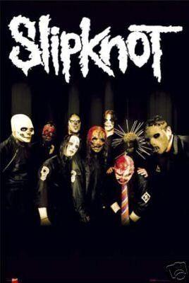 Slipknot Poster - Tribal Masks - Rare New Scary in 2019 | FAVORITE