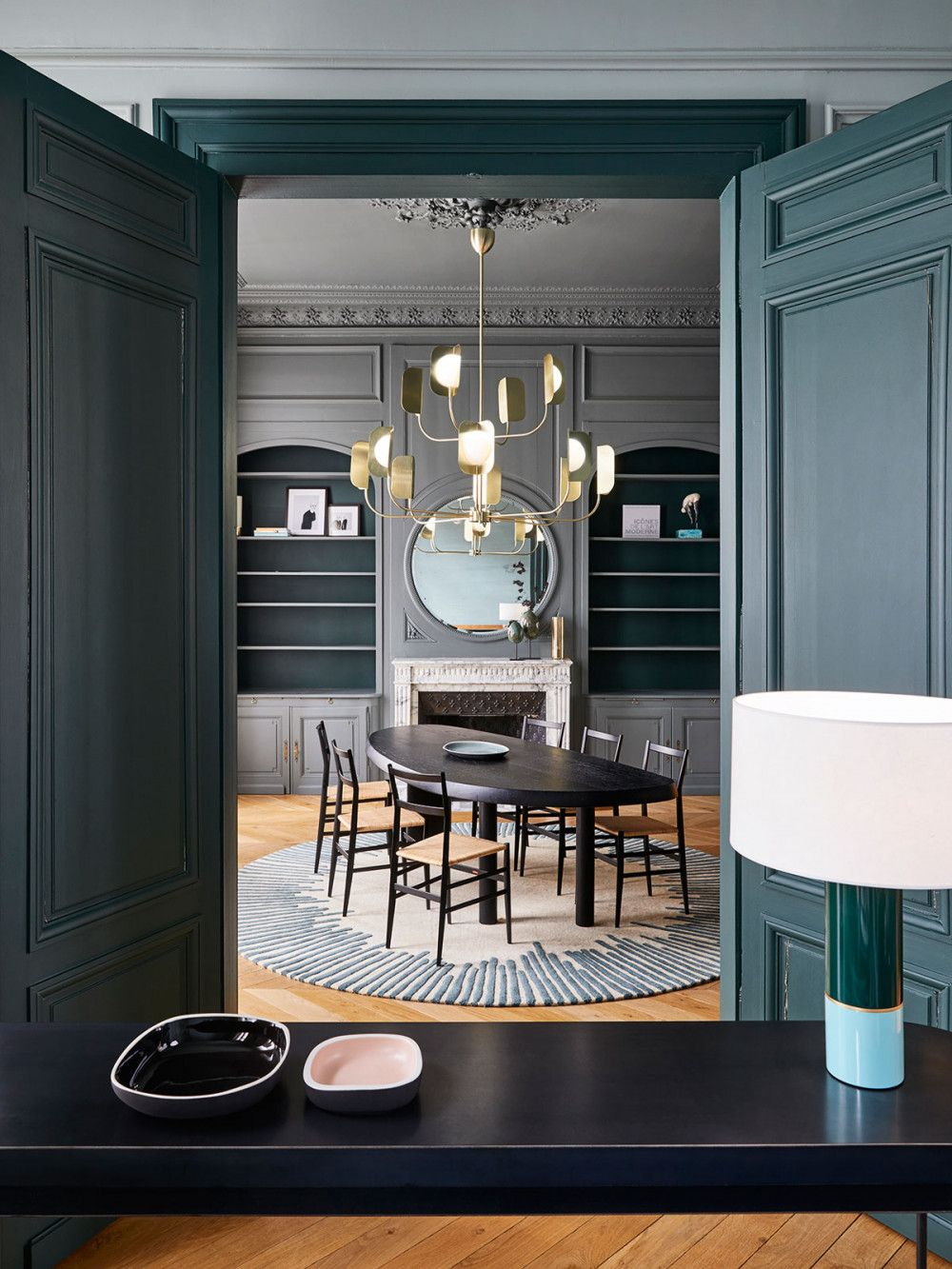 Top Interior Design Projects By Sarah Lavoine  Dining room