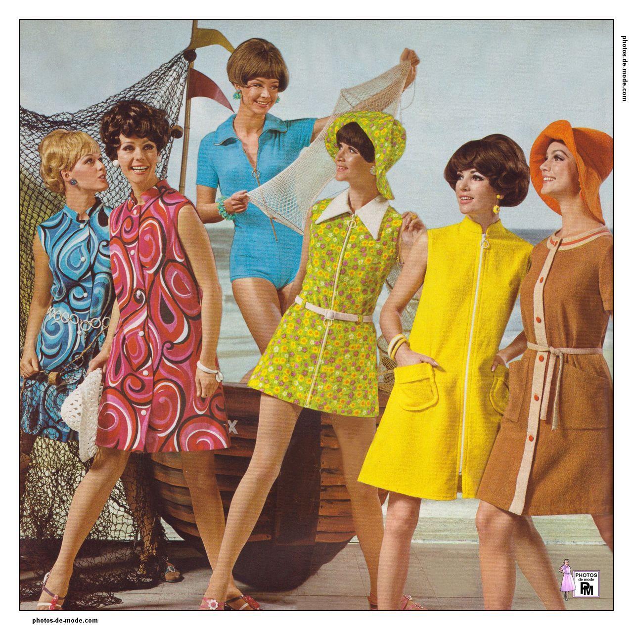 mode années 60 1968-1-ne-0014.jpg | 1960 - 1970 Mode | Pinterest