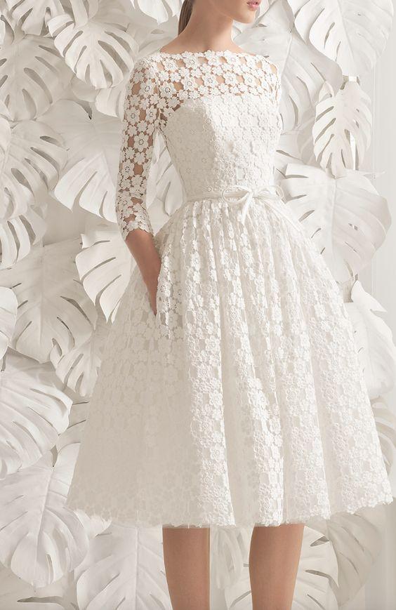 Featured Dress: Rosa Clara; Wedding dress idea