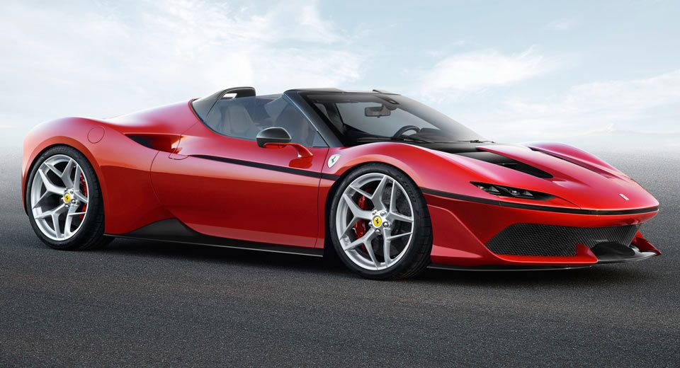 All-New Ferrari J50 Limited Edition Supercar Breaks Cover #newferrari