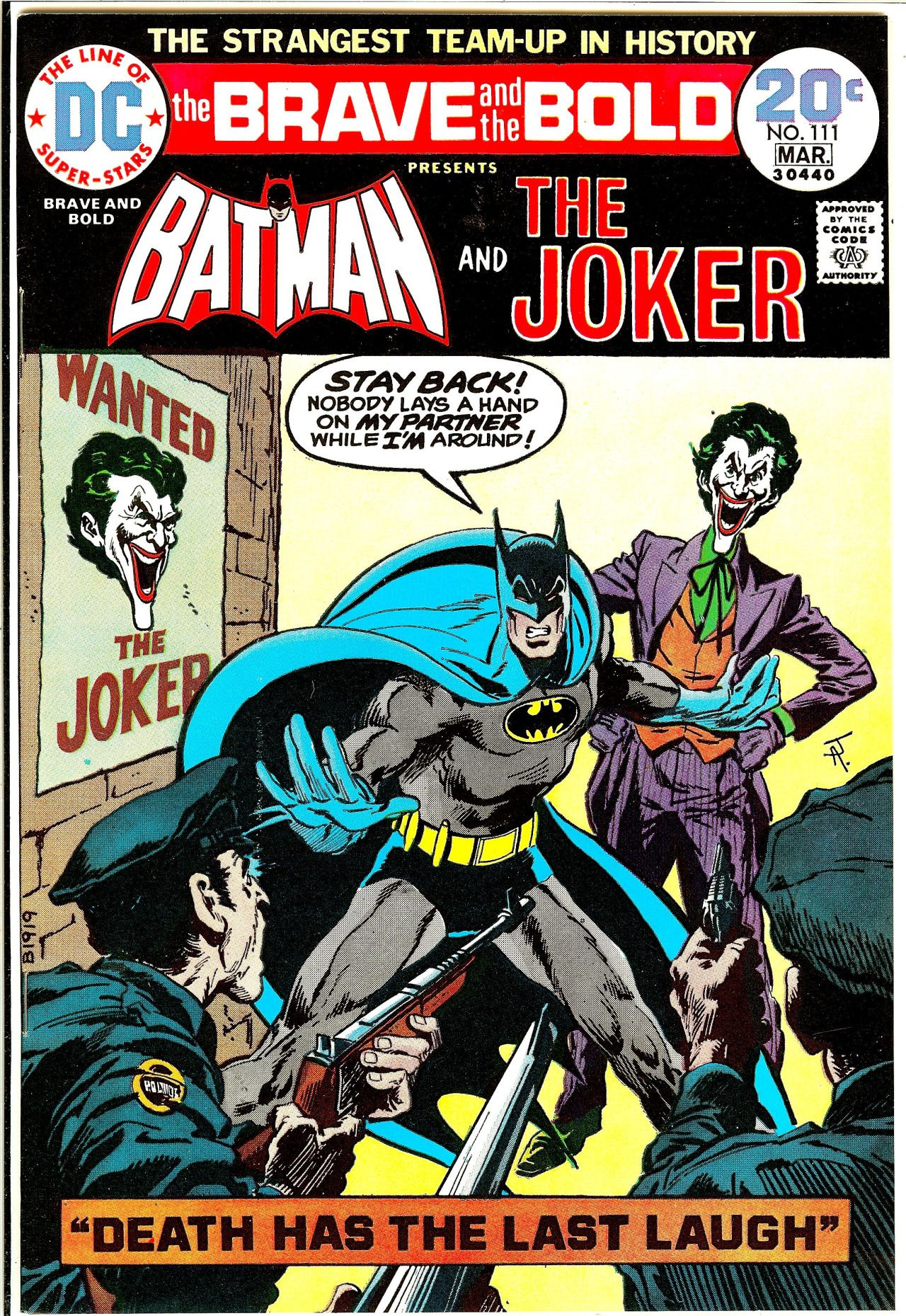 The Brave And The Bold 111 March 1974 Jim Aparo Inks Jim