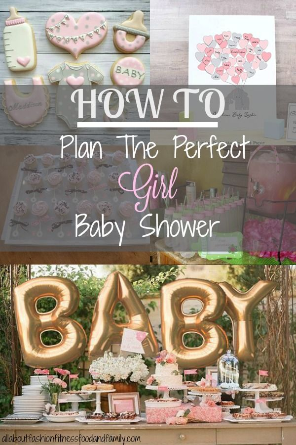 How To Plan The Perfect Girl Baby Shower images