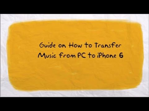 How To Transfer Music From Computer To Iphone 6 X2f 7 X2f 8 X2f X Iphone Music Iphone 6