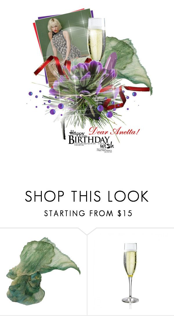 """Happy Birthday my DEAREST Anetta !"" by vinograd24 ❤ liked on Polyvore"