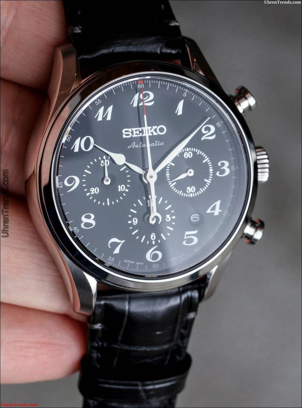 a9a2c242871 Seiko Presage Automatik Chronograph SRQ019   SRQ021 Limited Edition Uhren  Hands-On  automatik