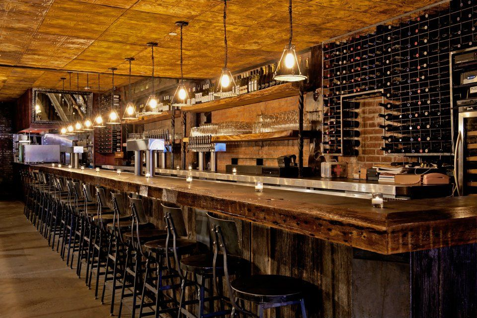 Bar Stools The Randolph Beer NYC I Like The Tin Ceiling Though It Feels