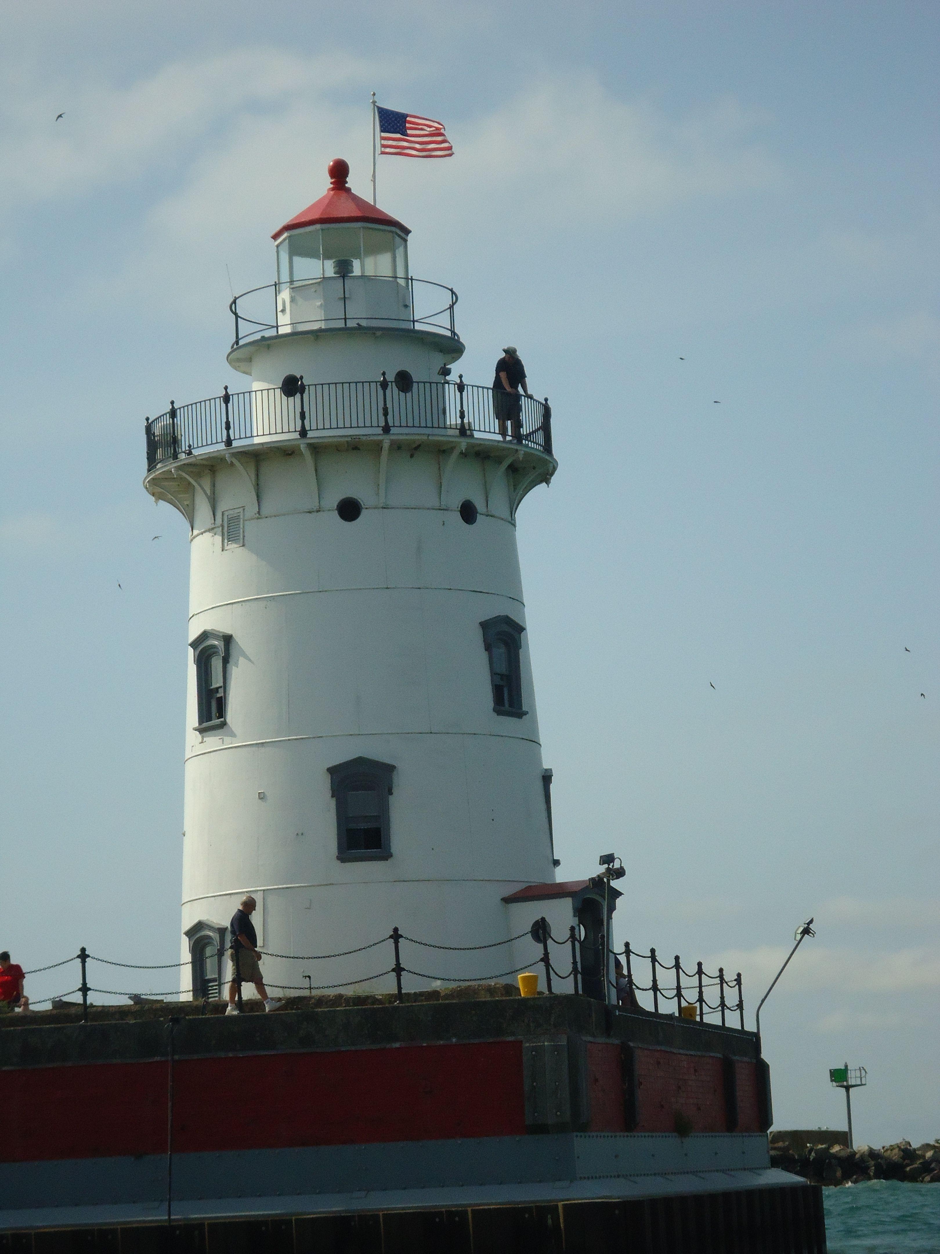 Harbor Beach Lighthouse Mi