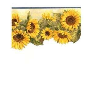 Sunflower Kitchen Border   Http Www Amazon Com Angels Sunflowers Wreaths  Wallpaper Bord Angels .