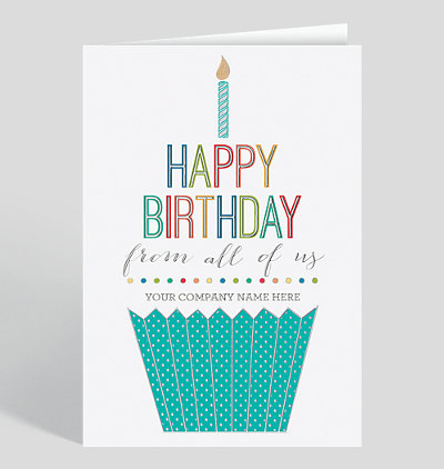 Employee Birthday Cards The Gallery Collection Business Greeting Cards Birthday Cards Business Christmas Cards