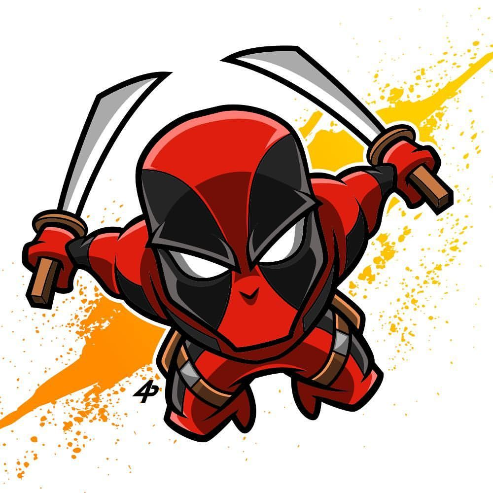 Deadpool #deadpool #marvel #xmen #digitalart #illustrator