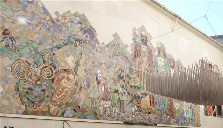 Entrada al Museu de la Patum (Berga) - octubre 2014