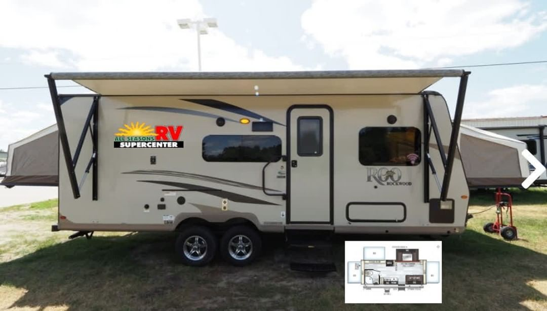 Your Rv Adventure Begins In The 2019 Forest River Rockwood Roo