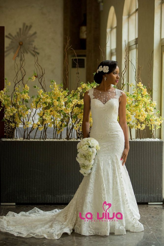LaViva Bridal Concepts Collection Lagos Nigeria Wedding Dresses OP13484