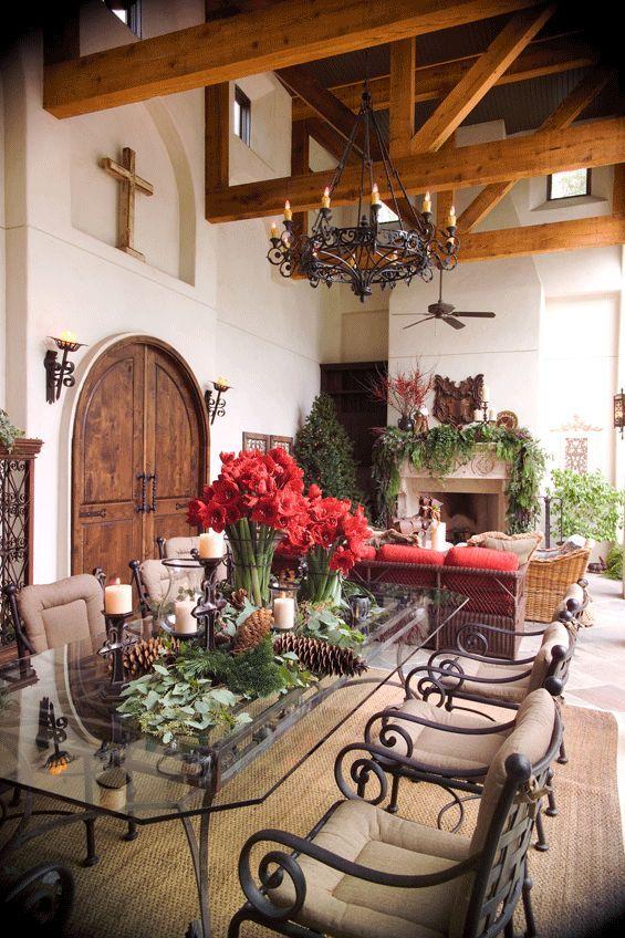 OutdoorKitchen Spanish style homes, Spanish decor