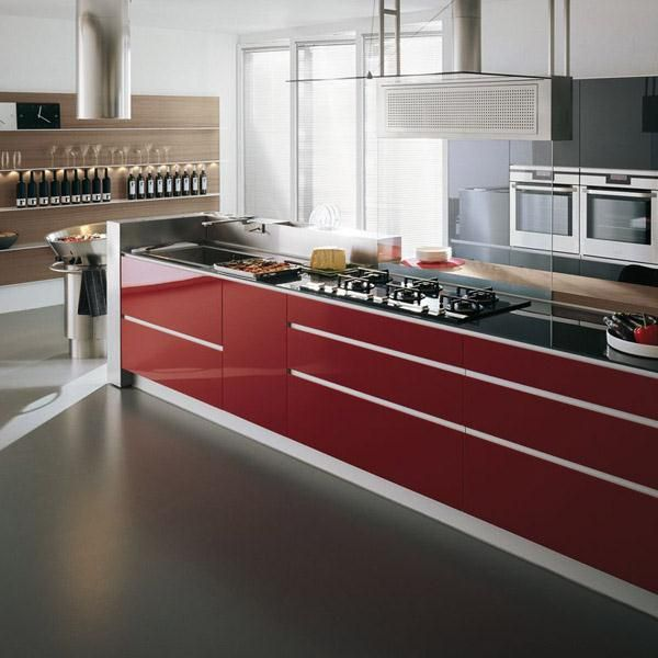 Artematica Vitrum from Valcucine | kitchens | Pinterest | Kitchens