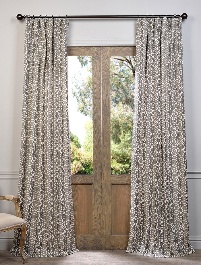 Curtains And Drapes Its All We Do Most People Assume That High End Luxury In Curtains Must Come At A High P With Images Printed Cotton Curtain Printed Curtains Curtains