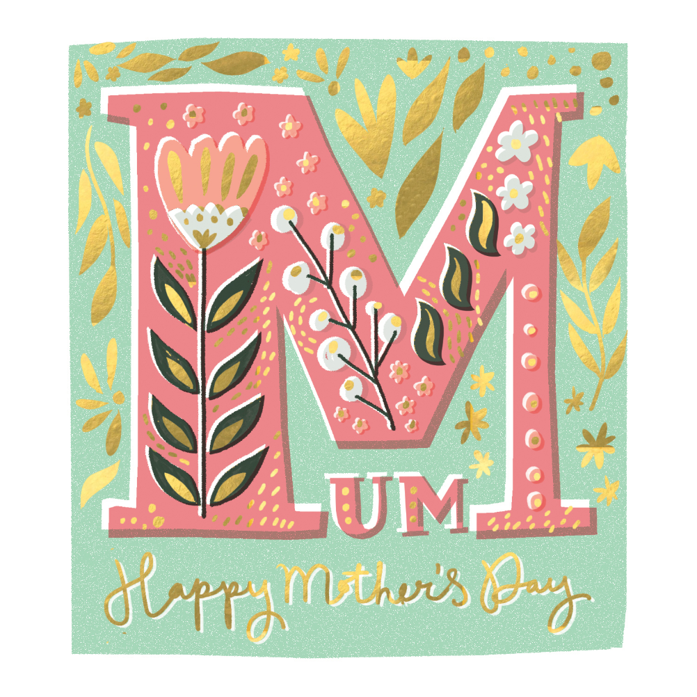Mum S The Word Mother S Day Card Free Greetings Island Mothers Day Card Template Mothers Day Cards Greeting Card Design