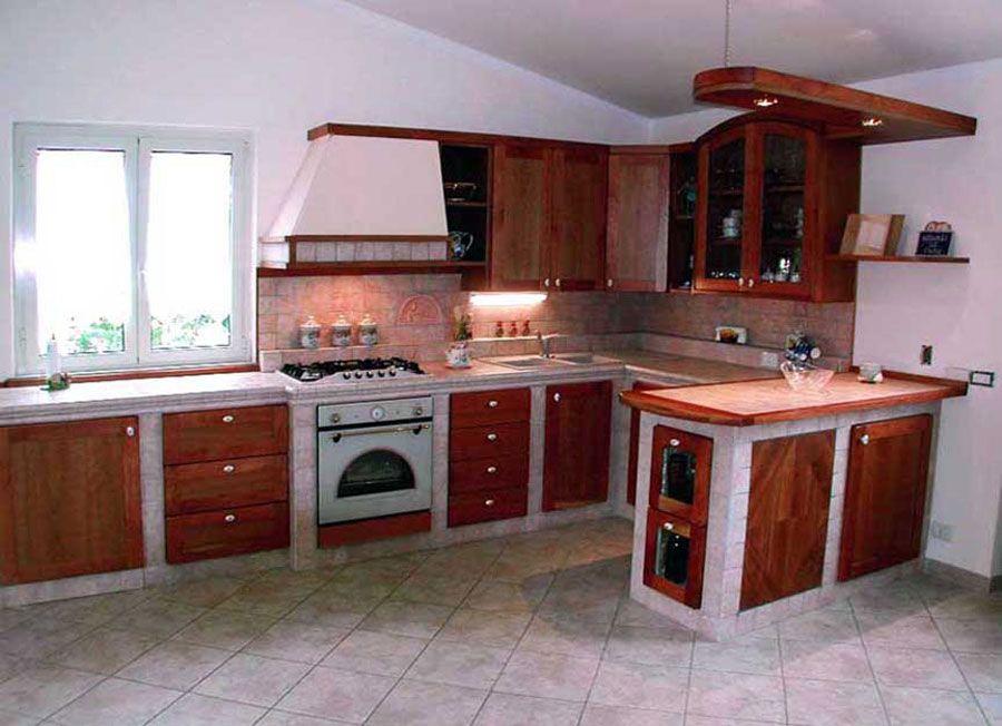 30 Cucine in Muratura Rustiche dal Design Classico | Cucine, Cucina ...