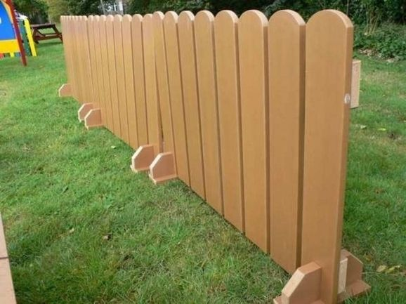 picture  temporary dog fence ideas build   standing