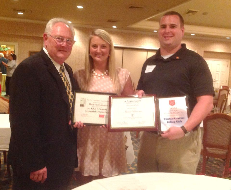 NewtonConover Rotary Club honors students Honor student