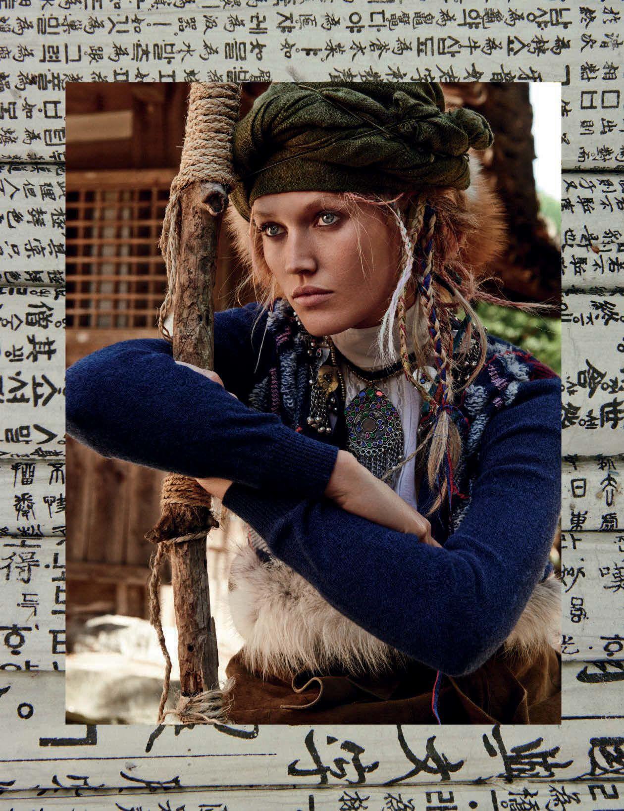 Fashion week Garrn toni vogue germany july for lady
