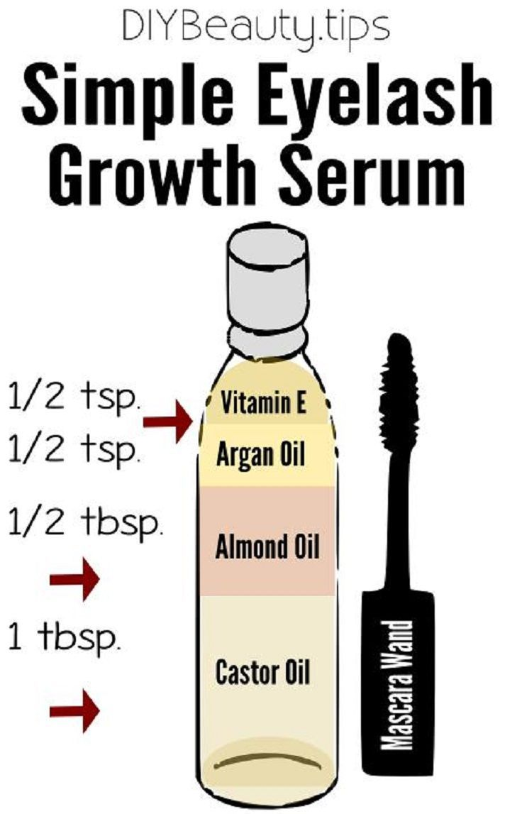 simple diy eyelash growth serum - 16 must-have diy beauty recipes to