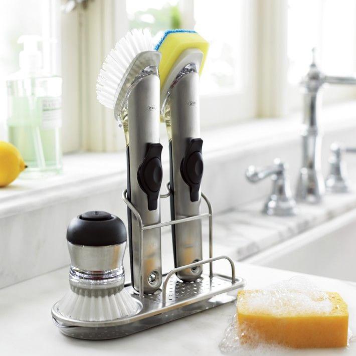 OXO Stainless-Steel Sink Organizer | Kitchen | Pinterest ...