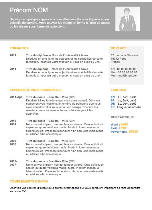 Cv Moderne 008 A Telecharger Gratuitement Sur Creeruncv Com Modele Cv Exemple Cv Exemple Cv Gratuit