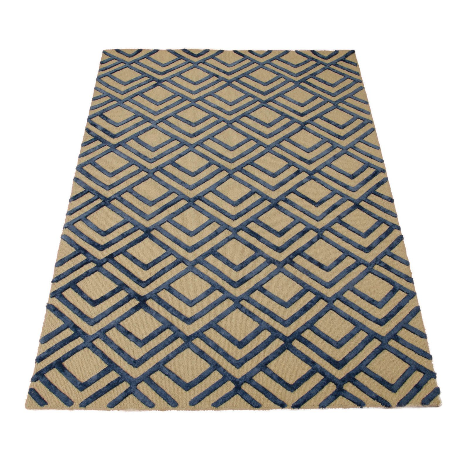 Strata Rugs Stt06 In Ivory And Navy Buy Online From The Rug Seller Uk Rugs Rugs On Carpet Rug Direct
