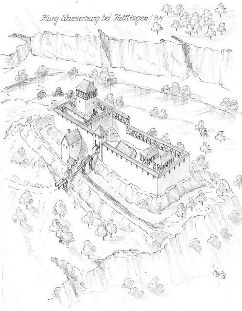 Bw Wasserburg Burg Burgen Und Schlosser Festungen