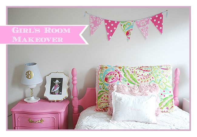 S Room In Pink White Gold Al Decor I Spent This Summer Updating My Daughter Age 5 With Some Fun And Touches