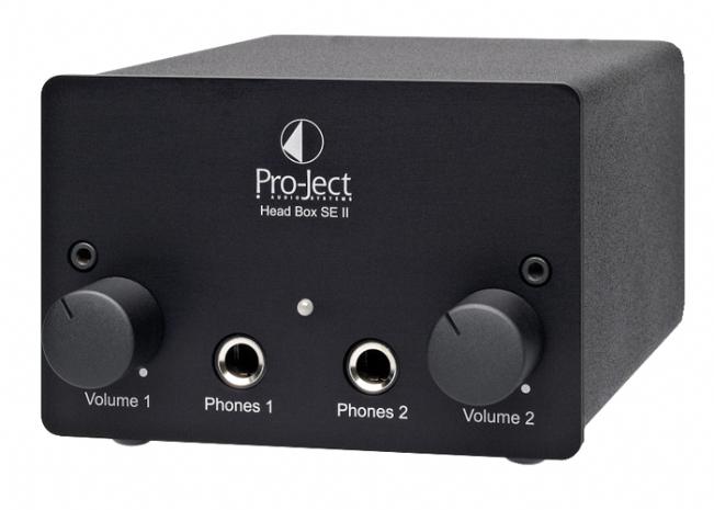 ProJect Head Box S/E II Headphone PreAmplifier