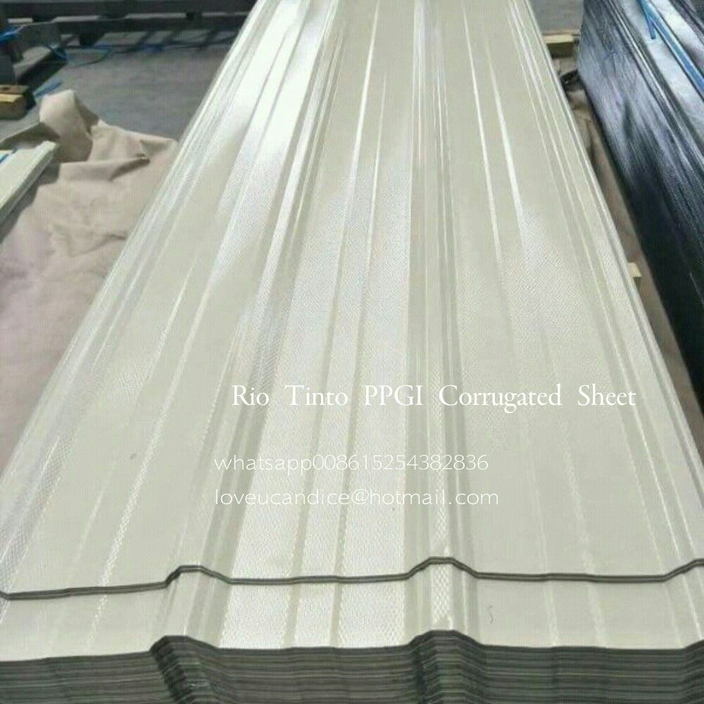 New Order For Ppgi Corrugated Sheet Size 0 13mm 680mm 2400mm Welcome To Inquiry Www Chinaleader Cc Galvanized Steel Zinc Coating Corrugated