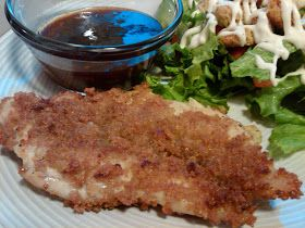 Mmm...Cafe: Crispy Chicken with Orange Dipping Sauce