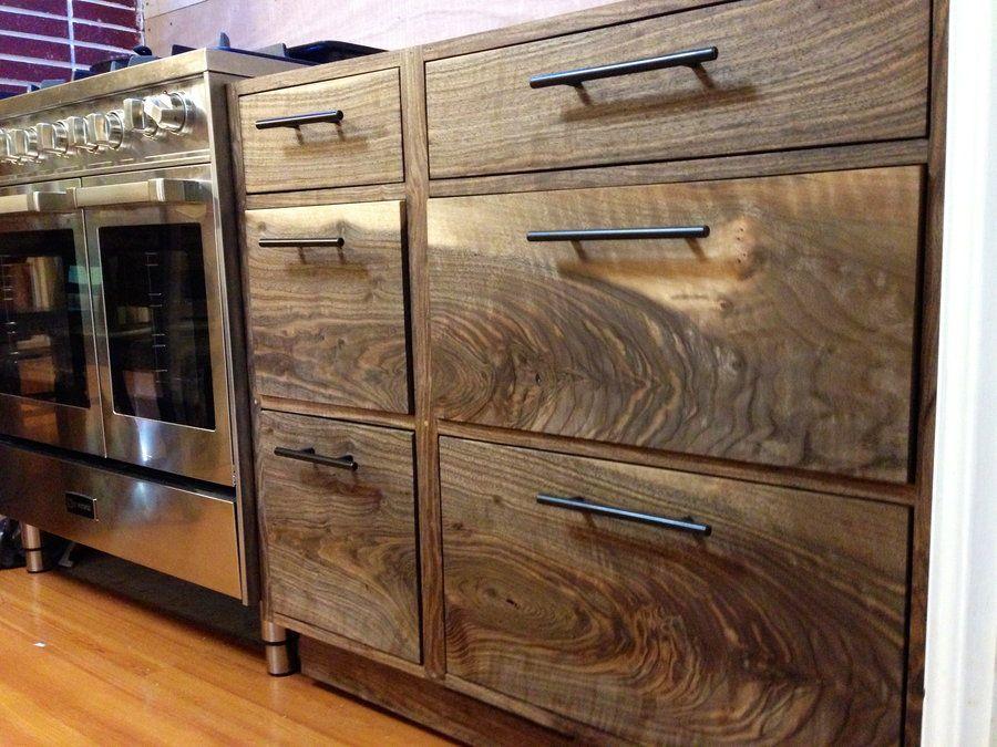 black walnut cabinets | Black Walnut Kitchen Cabinets ...
