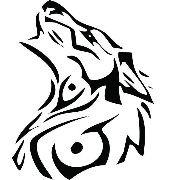 Tatuajes De Lobos Tribales Cuerpo Y Arte Tatoo Disen