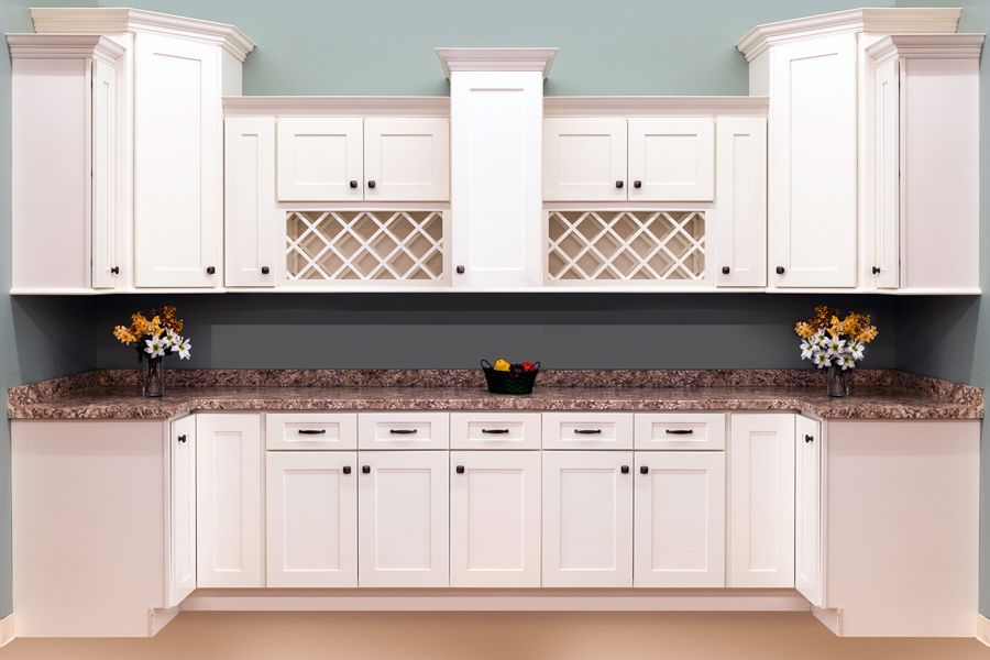 Faircrest White Shaker Cabinets Sku Cl0022 For The